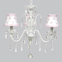 Petal Flower Jewel Chandelier, Nursery Lighting | Kids Floor Lamps | ABaby.com
