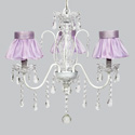 Ballerina Tutu 3 Arm Jewel Chandelier, Nursery Lighting | Kids Floor Lamps | ABaby.com