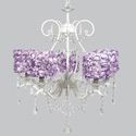 Rose Garden 5 Arm Grace Chandelier, Nursery Lighting | Kids Floor Lamps | ABaby.com