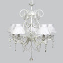 Ballerina Tutu 5 Arm Grace Chandelier, Nursery Lighting | Kids Floor Lamps | ABaby.com