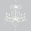 5 Arm Grace Chandelier, Nursery Lighting | Kids Floor Lamps | ABaby.com