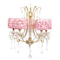 Rose Garden Colleen 5 Arm Chandelier, Nursery Lighting | Kids Floor Lamps | ABaby.com