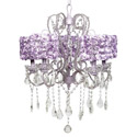 Rose Garden Whimsical 5 Arm Chandelier , Nursery Lighting | Kids Floor Lamps | ABaby.com