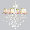 Fresh Scent 6 Arm Glitz Chandelier, Nursery Lighting | Kids Floor Lamps | ABaby.com