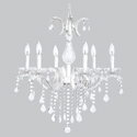 6 Arm Glitz Chandelier, Nursery Lighting | Kids Floor Lamps | ABaby.com