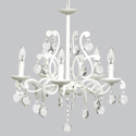 5 Arm Elegance Chandelier , Nursery Lighting | Kids Floor Lamps | ABaby.com