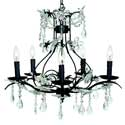 Cinderella 5 Arm Chandelier, Nursery Lighting | Kids Floor Lamps | ABaby.com