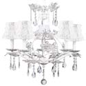 Cinderella White Floral Chandelier, Nursery Lighting | Kids Floor Lamps | ABaby.com