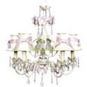 Ivory Flower Garden 5 Arm Chandelier, Nursery Lighting | Kids Floor Lamps | ABaby.com