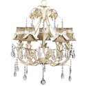 Ivory Ballroom Chandelier , Nursery Lighting | Kids Floor Lamps | ABaby.com