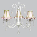 Fresh Scent 3 Arm Chandelier, Nursery Lighting | Kids Floor Lamps | ABaby.com