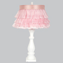 Ruffled Skirt Shabby Chic Lamp,