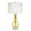 Rose Garden Calabaza Lamp ,