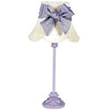 Lavender Leaf Scroll Lamp,