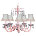 Flower Crystal Chandelier, Nursery Lighting | Kids Floor Lamps | ABaby.com