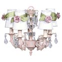 Rose Sash 5-Arm Chandelier, Nursery Lighting | Kids Floor Lamps | ABaby.com