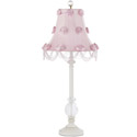 Rose Swag Glass Ball Lamp,