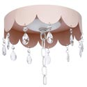 Scalloped Medallion with Crystals, Nursery Lighting | Kids Floor Lamps | ABaby.com