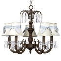 Waterfall  Bow Shade Chandelier, Chandeliers for Kids Rooms & Nursery | Mini Chandelier | aBaby.com