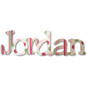 Jordan's Patterns Wall Letters, Kids Wall Letters | Custom Wall Letters | Wall Letters For Nursery