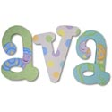 Adorable Bugs Wall Letters, Frogs And Bugs Nursery Decor | Frogs And Bugs Wall Decals | ABaby.com