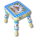 Monkey Business Step Stool, African Safari Themed Toys | Kids Toys | ABaby.com