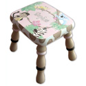 African Safari Step Stool, Step Stools For Children | Kids Stools | Kids Step Stools | ABaby.com