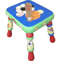 Play by Play Sports Step Stool, Sports Themed Nursery | Boys Sports Bedding | ABaby.com