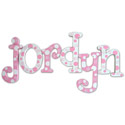 Strawberry Ice Wall Letters, Girls Wall Letters | Kids Wall Letters For Nursery | ABaby.com