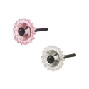 Dot Edge Glass Knobs