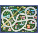 My Community Helpers Rug, Train Nursery Decor | Train Wall Decals | ABaby.com