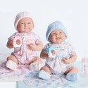Cuddly Twin Dolls with Gift Set, Real Baby Dolls | Lifelike | Twin | Newborn | aBaby.com