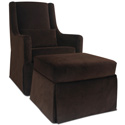 Original Luxe Glider, Upholstered Glider Rocker | ABaby.com