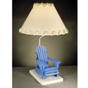 Beach Chair Table Lamp, Surfs Up Nursery Decor | Surfs Up Wall Decals | ABaby.com