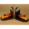 Race Car Bookends, Baby Bookends | Childrens Bookends | Bookends For Kids | ABaby.com