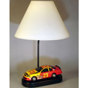 Race Car Table Lamp, Train And Cars Themed Nursery | Train Bedding | ABaby.com