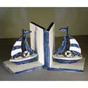 Sailboat Bookends, Baby Bookends | Childrens Bookends | Bookends For Kids | ABaby.com