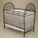Vintage Iron Crib, Baby Cribs | Modern | Convertible | Antique | Vintage