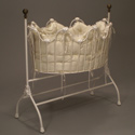 Scalloped Iron Cradle, Iron Bassinet | Iron Cradle | ABaby.com