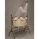 Sheer Beauty Iron Cradle, Iron Bassinet | Iron Cradle | ABaby.com