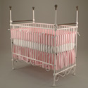 Aristocratic Elegance Iron Crib, Corsican Cribs | Iron Baby Cribs | ABaby.com