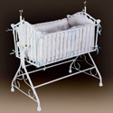 Regal Iron Cradle, Iron Bassinet | Iron Cradle | ABaby.com