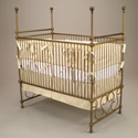 Grandeur Iron Poster Crib, Antique Baby Crib | Cradle | Designer Convertible Cribs | ABaby.com