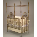 Opulence Iron Crib, Baby Canopy Crib | Nursery | Crown Canopy for Cribs | aBaby.com