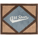 All Star Sports Rug, Novelty Rugs | Cheap Personalized Area Rugs | ABaby.com