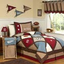 All Star Sports Twin Bedding Set, Sports Themed Nursery | Boys Sports Bedding | ABaby.com