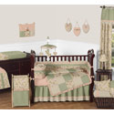 Annabel Crib Bedding, Baby Girl Crib Bedding Sets | Crib Accessories | Unique | aBaby.com