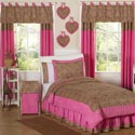 Cheetah Pink Twin Bedding Set, Girls & Boys Twin Bedding Sets | Bed Sheets | Comforters| aBaby.com
