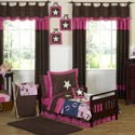 Cowgirl Toddler Bedding Set, Wild West, Western, Cowboy Themed Furniture, Decor For Childrens Rooms and Baby's Nursery.