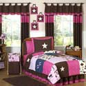 Cowgirl Twin Bedding Set, Wild West, Western, Cowboy Themed Furniture, Decor For Childrens Rooms and Baby's Nursery.